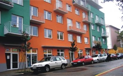 Apartmanház, Benešov, Csehország