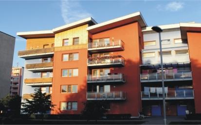 Apartmanház, Hulin, Csehország