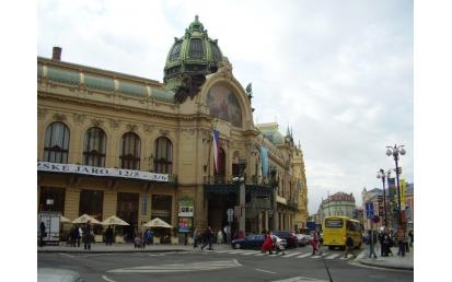 Obecní dům, Praha, Csehország