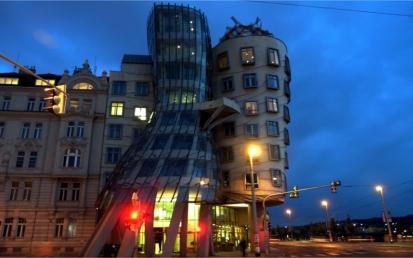 Tančící dům, Praha, Csehország