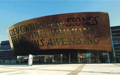 Welsh Millennium Centre, Cardiff, Anglia