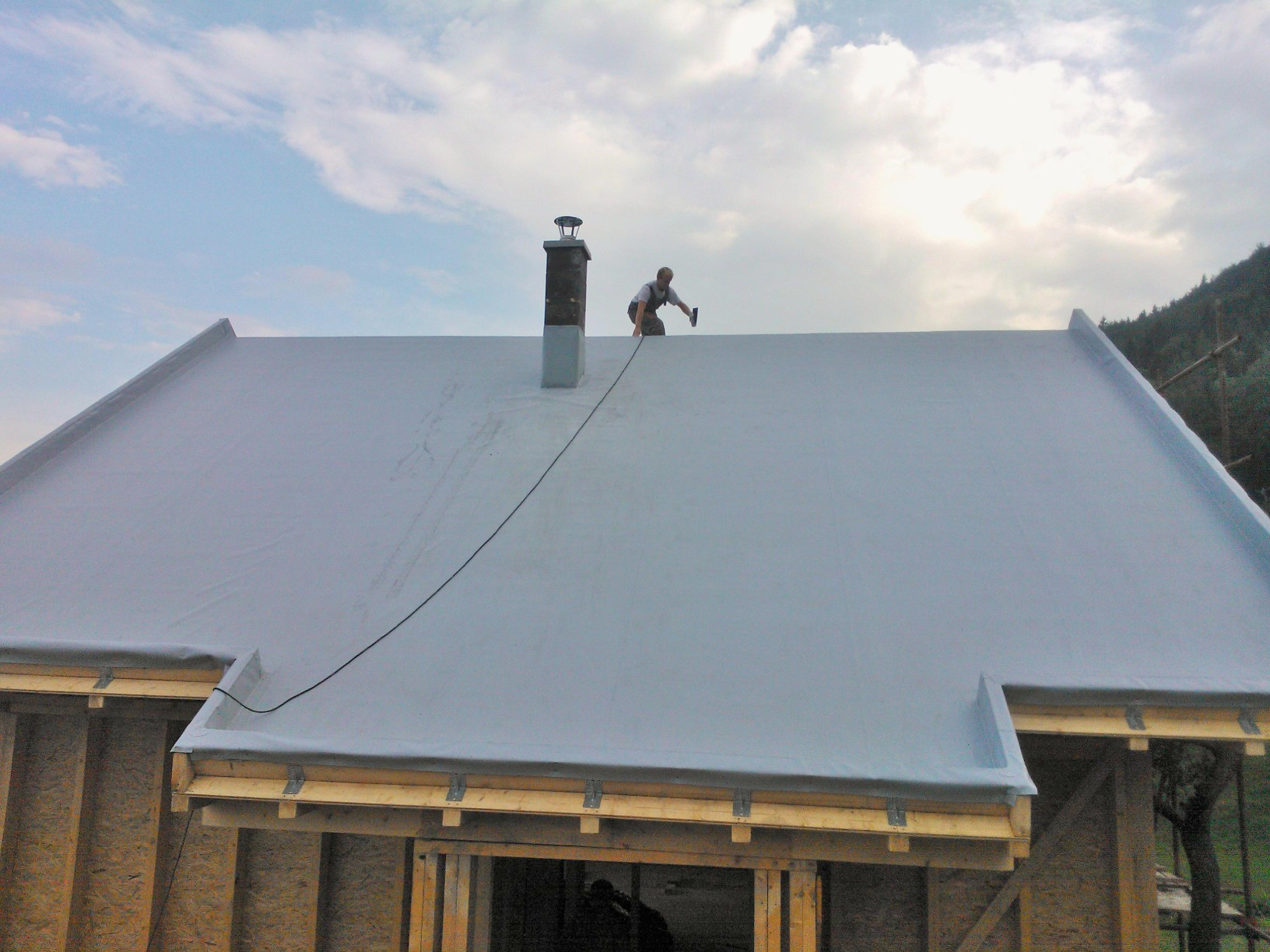 Mechanically Anchored Roofs Fatrafol Water Proofing