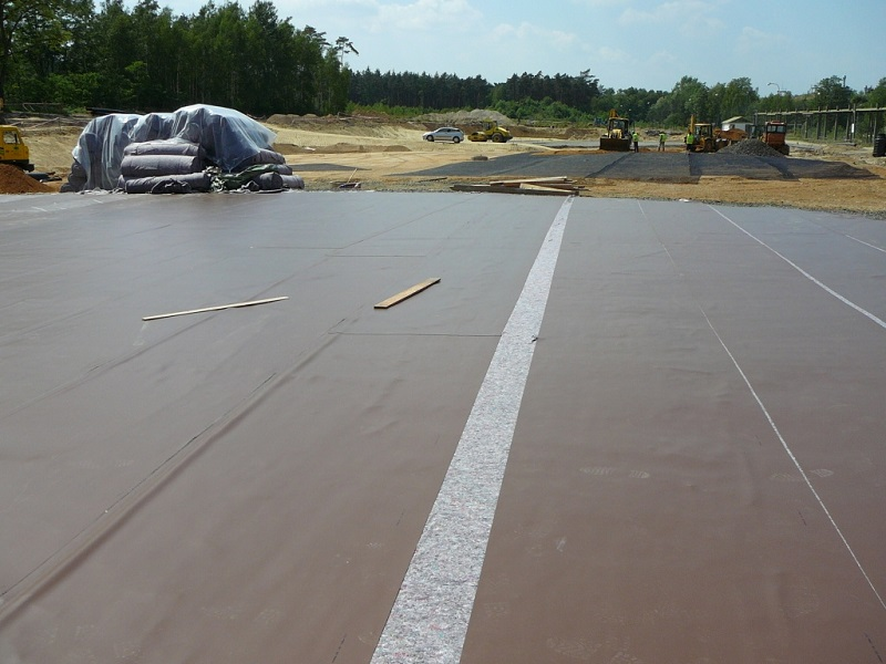 Waterproofing against ground moisture