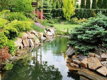 Garden pools, ponds, lakes membranes