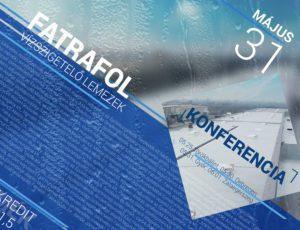 KONFERENCIA : Könnyűszerkezetes ipari tetők műszaki részletei