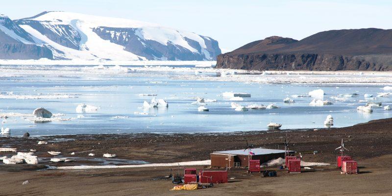 Polární stanice na Antarktidě