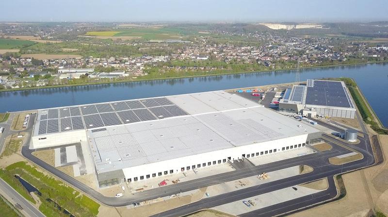 Roof waterproofing at TRILOGIPORT in Belgium